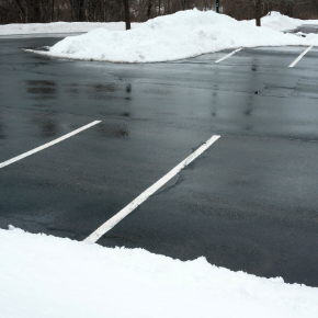 Snow Removal for Parking Lot Shelby Township