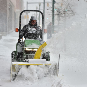 Sidewalk Snow Plowing Services in Shelby Township, Michigan